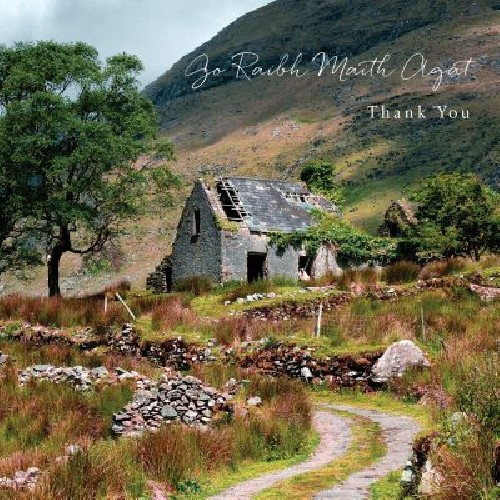 Derelict Cottage, Thank You Notelet
