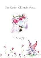 Fairy & Humming Bird Thank You