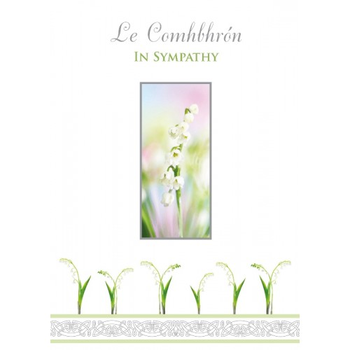 Lily of the Sympathy Card