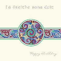 Celtic Circle Birthday