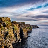 Cliffs of Moher, Blank Greeting Card